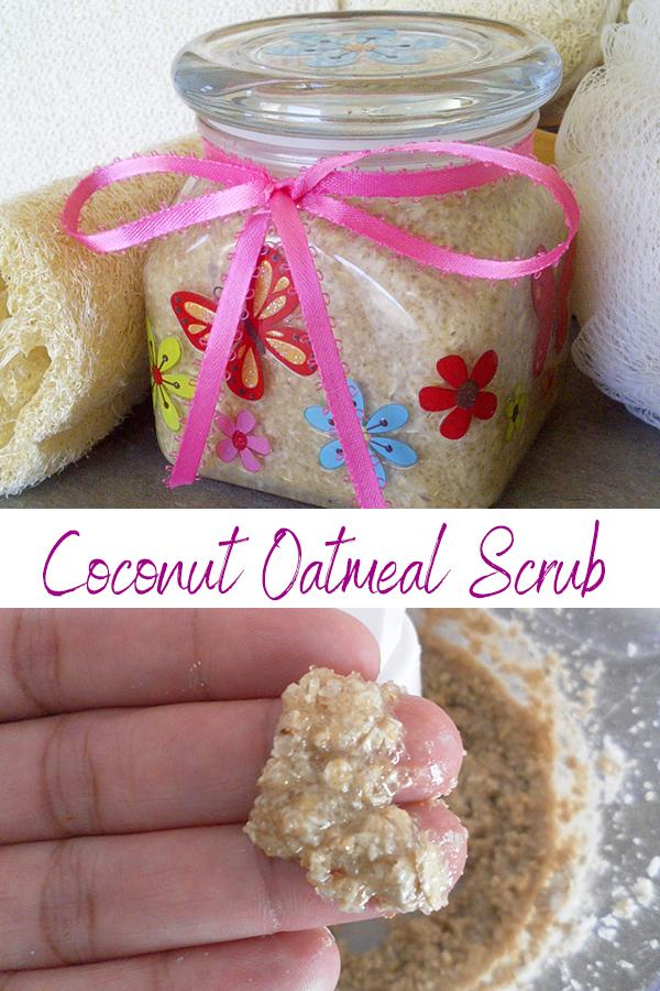 how to make homemade coconut body scrub