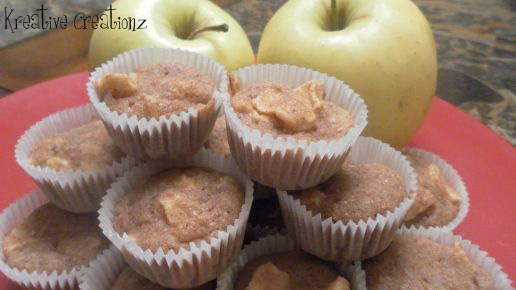 Apple Cinnamon Mini Muffins
