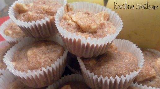 Apple Cinnamon Muffins - The Kreative Life