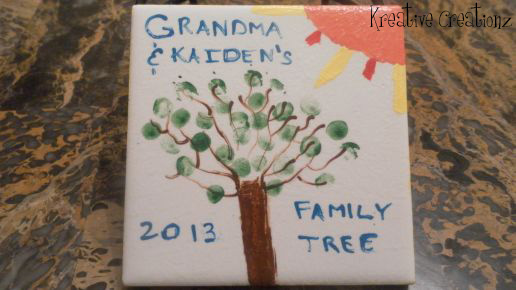 Fingerprint Family Tree Art - The Kreative Life
