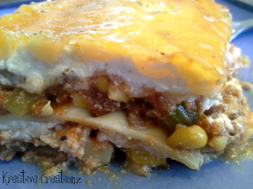 Garden Variety and Meat Lasagna - The Kreative Life