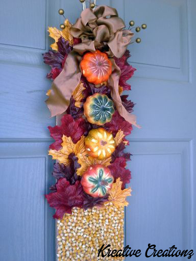 Autumn Door Decor 1 - The Kreative Life