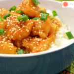 An Asian-inspired Sesame Orange Ginger Chicken dinner recipe that is full of flavor. - The Kreative Life