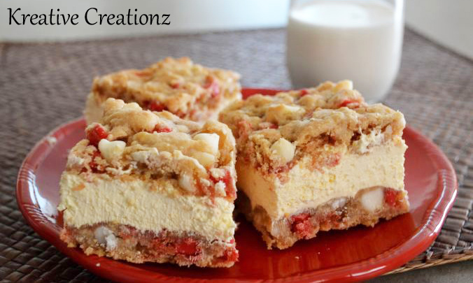 A batch of the cherry and white chocolate chip ice cream sandwiches are the perfect homemade treat. Stepping away from the traditional ice cream sandwich, these offer a world of flavor. - The Kreative Life