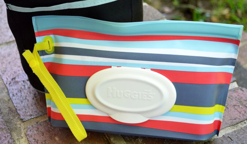 Stylish Baby Wipes for Moms on the Go