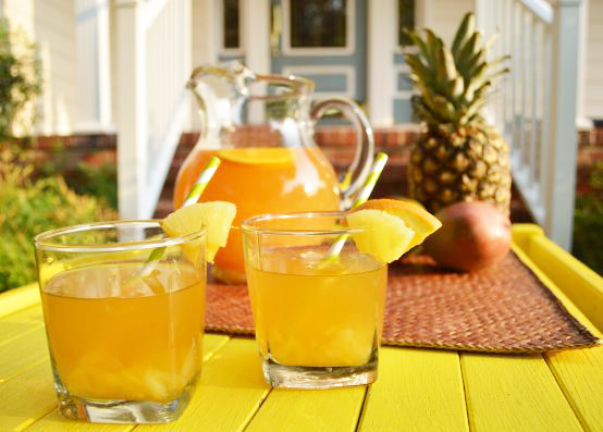 If you ever need a Grand Marnier summer cocktail you'll love this one! The flavors of mango and pineapple paired with the sweetness of Grand Marnier makes this one of the best Grand Marnier drink recipes. - The Kreative Life