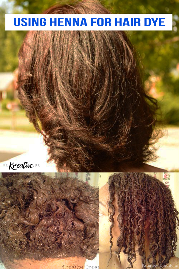 Using henna for hair dye is a great alternative to traditional hair dyes to cover gray. It's perfect for natural hair. - The Kreative Life