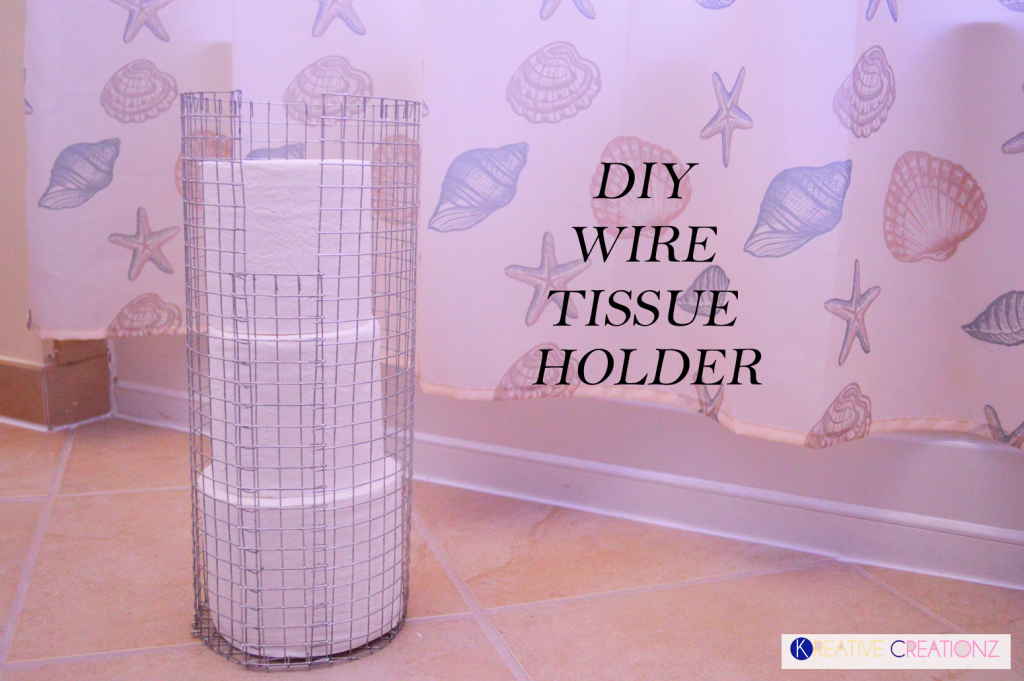 DIY Wire Tissue Holder 2 Featured