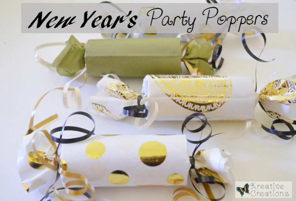 New Year's Party Poppers