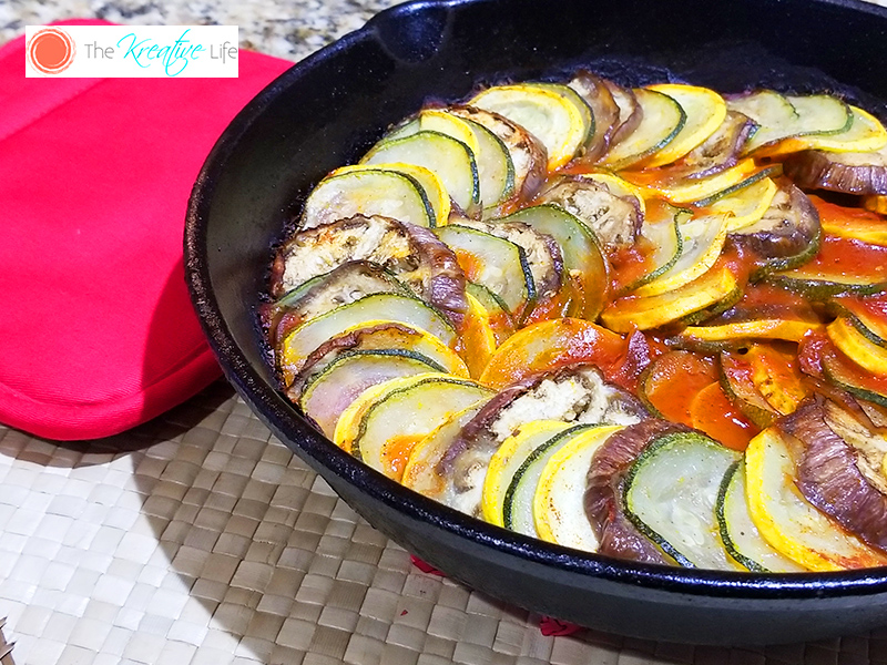 Cast Iron Ratatouille - The Kreative Life