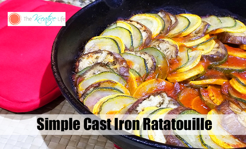 Cast Iron Ratatouille