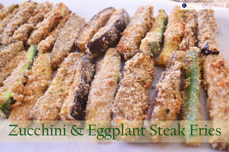 Zucchini and Eggplant Steak Fries