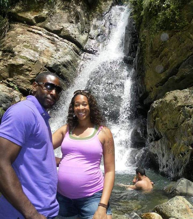 Old pic I was seven months pregnant and went onhellip