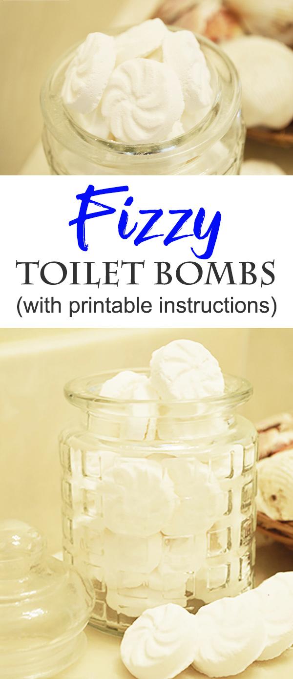 Fizzy Toilet Bombs