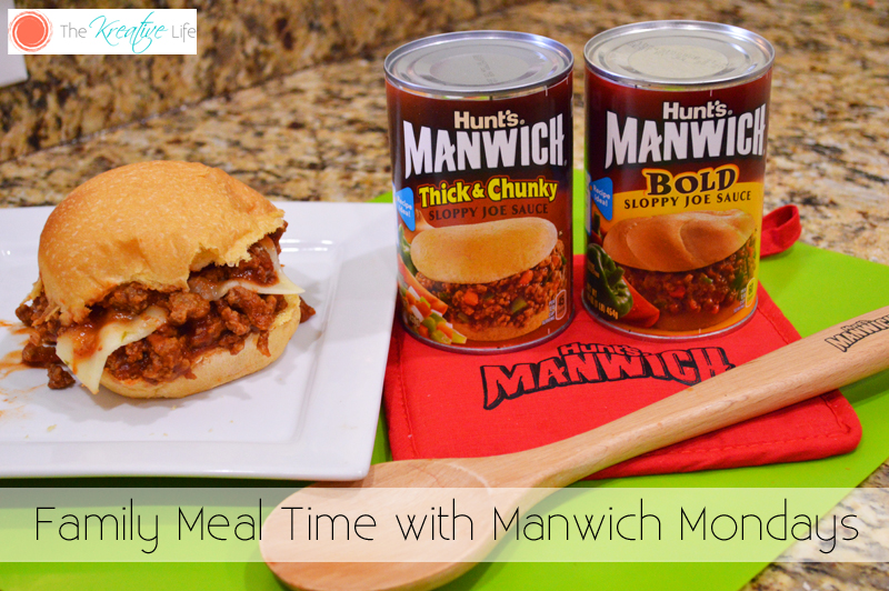 Family Mealtime with Manwich Mondays
