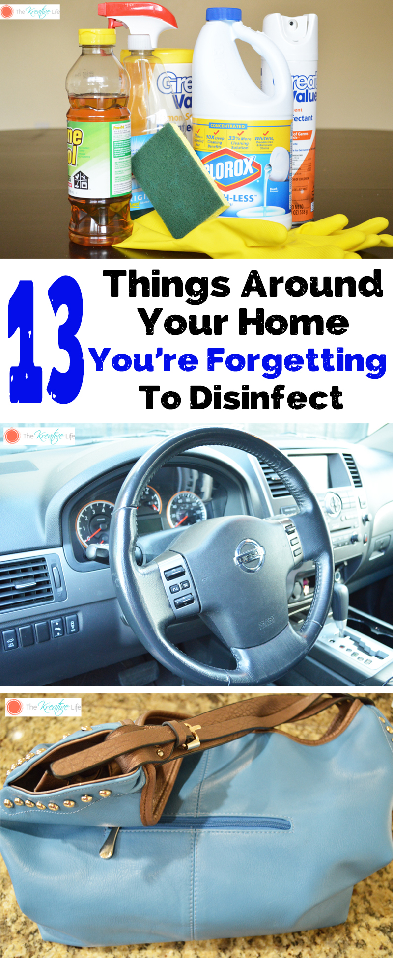 It's always a good idea to disinfect your home after the flu. There are some places that you may be forgetting. These 13 things around your home you should be disinfecting should never be looked over. - The Kreative Life