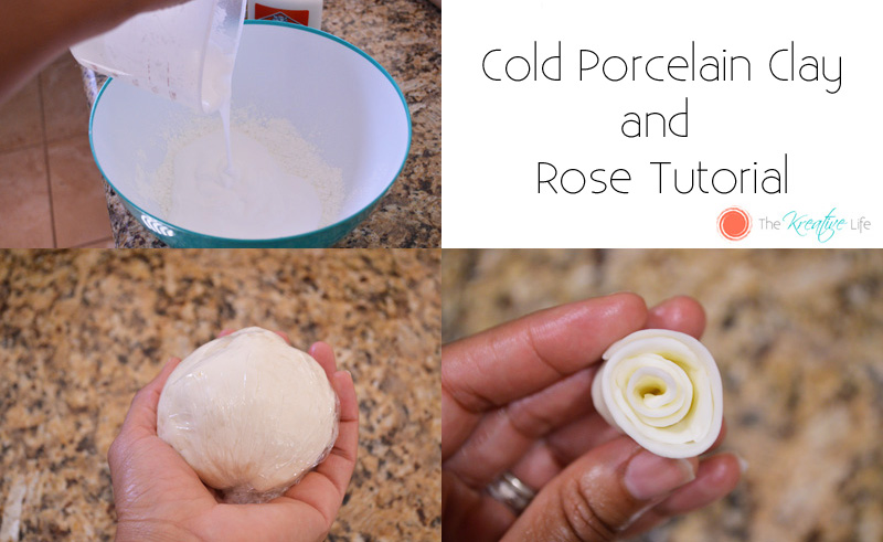 How to Make Cold Porcelain Clay and Roses