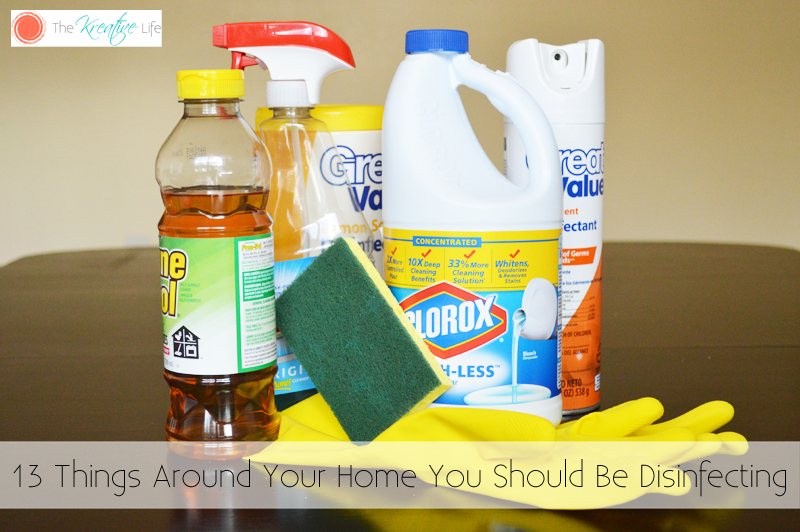 Disinfecting your home after the flu or any illness is a must when it comes to keeping your family healthy. From disinfecting your toothbrush to disinfecting your purse, knowing how to clean and disinfect your home will help your family live a little healthier.- The Kreative Life