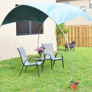 DIY Outdoor Sun-Shade Featured