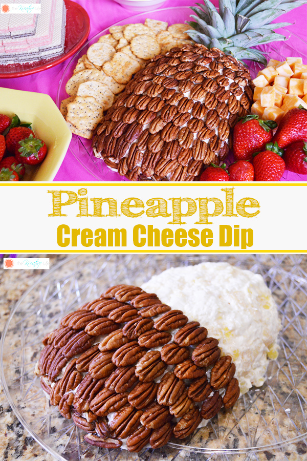 Pineapple Cream Cheese Dip - The Kreative Life