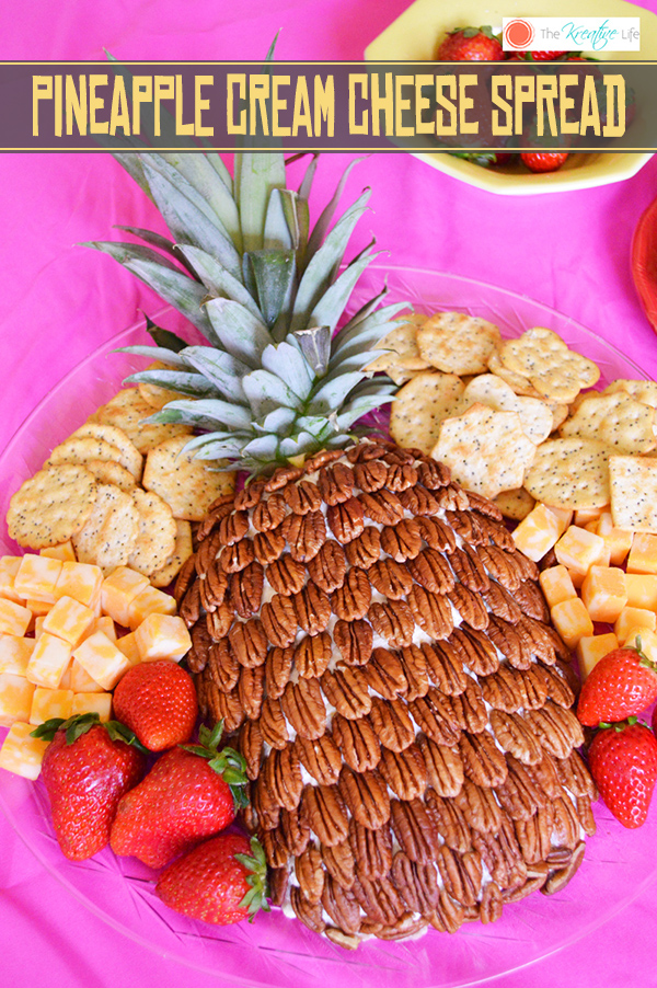 Pineapple Cream Cheese Spread