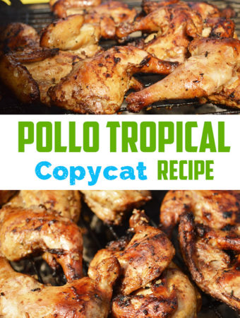 This Pollo Tropical Chicken Copycat recipe has the flavor of the Caribbean. - The Kreative Life