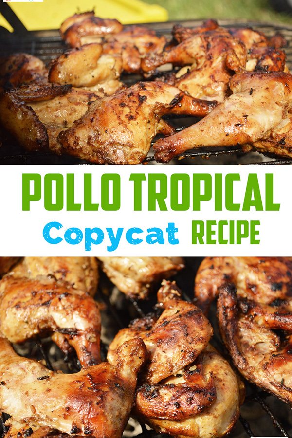 This Pollo Tropical Chicken Copycat recipe with Tropic Pollo Marinade has the flavor of the Caribbean. - The Kreative Life