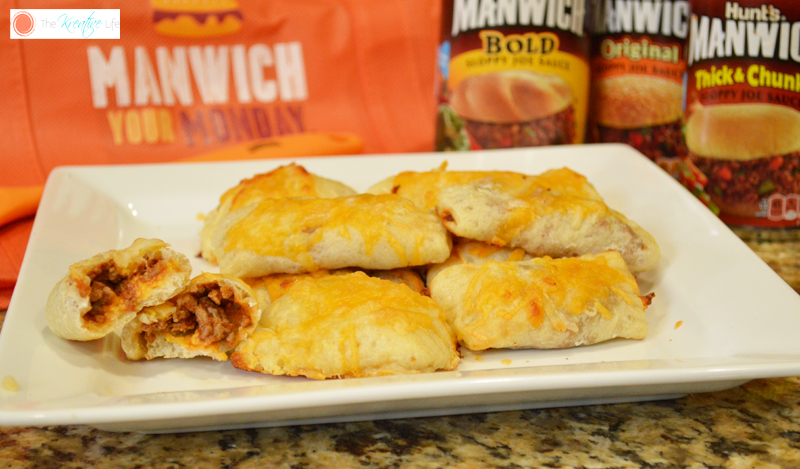 Manwich Mondays Homemade Pizza Pockets