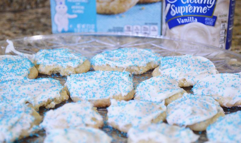 Winter Wonderland Sugar Cookies Baking Fun