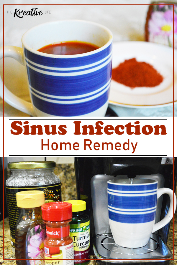 This sinus infection home remedy used natural ingredients to give you some sinus pressure relief.