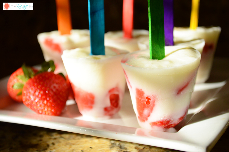 Strawberry Yogurt Pops 5