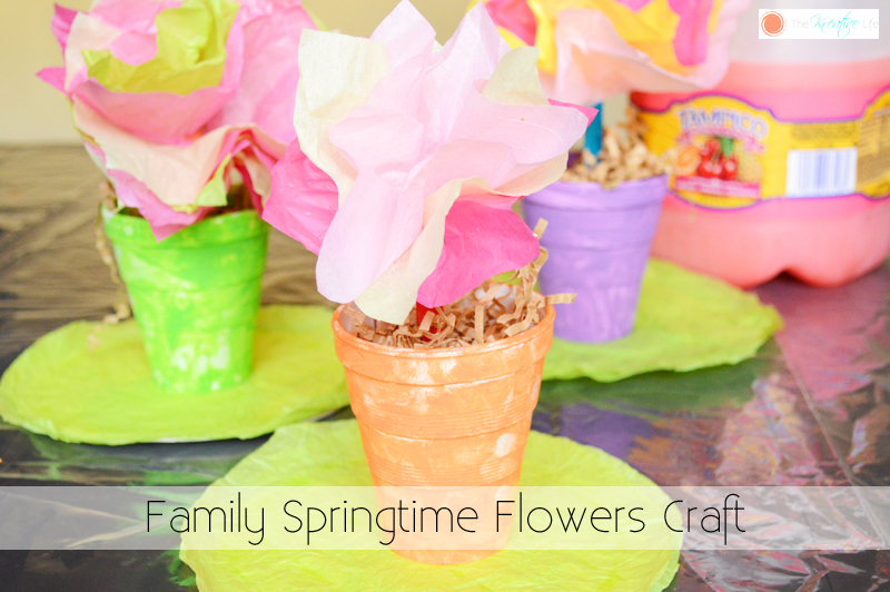Springtime Flowers Craft