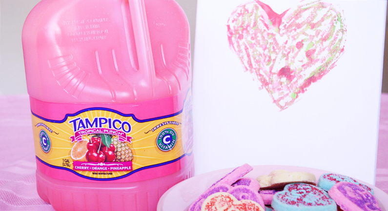 Valentine's Day Art Party with Tampico