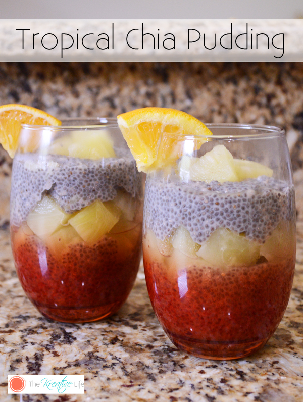 Tropical Chia Pudding - The Kreative Life