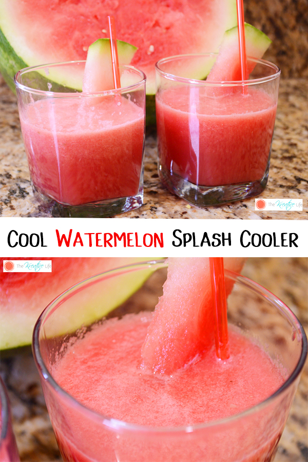 Watermelon Drink Splash Cooler