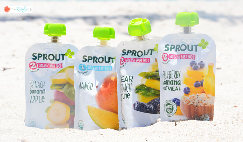 At the Beach With Sprout Organic Baby Food