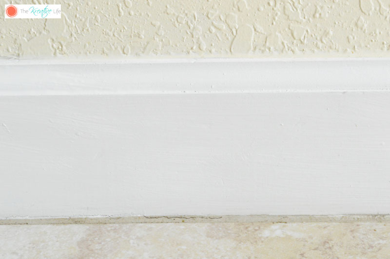 How to Paint Baseboards - The Kreative Life