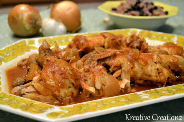 Cuban-Inspired Slow Cooker Salsa Criolla Chicken