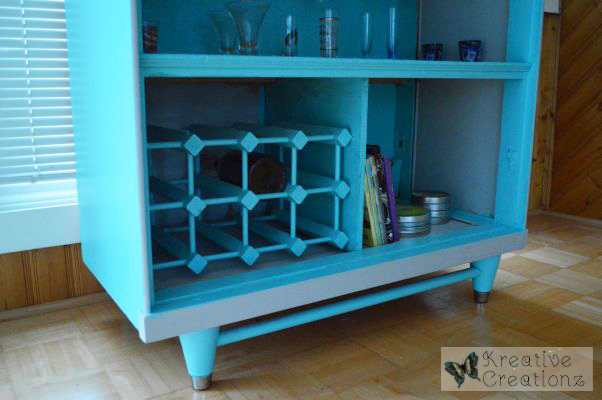 Antique Dresser Into Sunroom Bar Redo - The Kreative Life