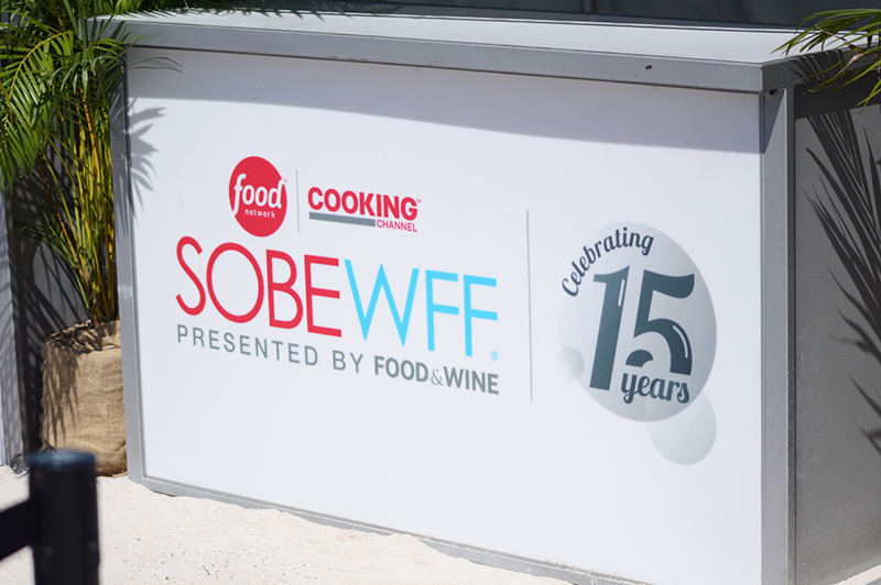 Every year the South Beach Wine and Food Festival is held in Miami with celebrity chefs and stars from the Cooking Channel and Food Network. - The Kreative Life