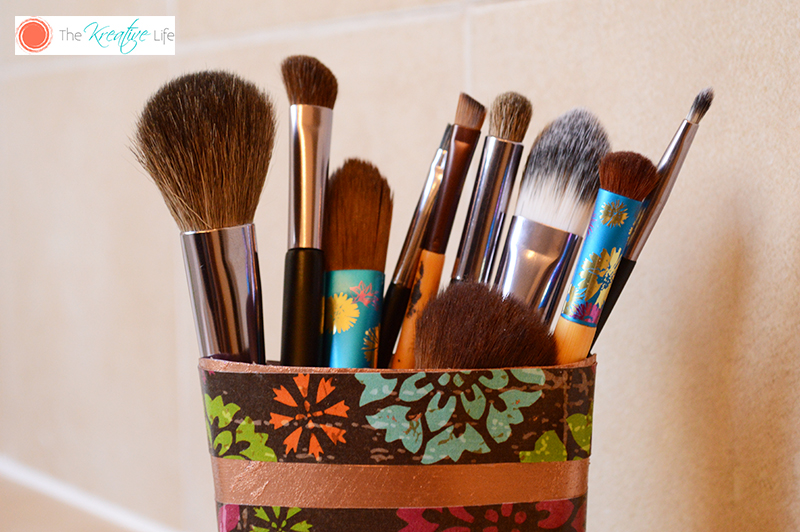 DIY Beauty Brush Holde