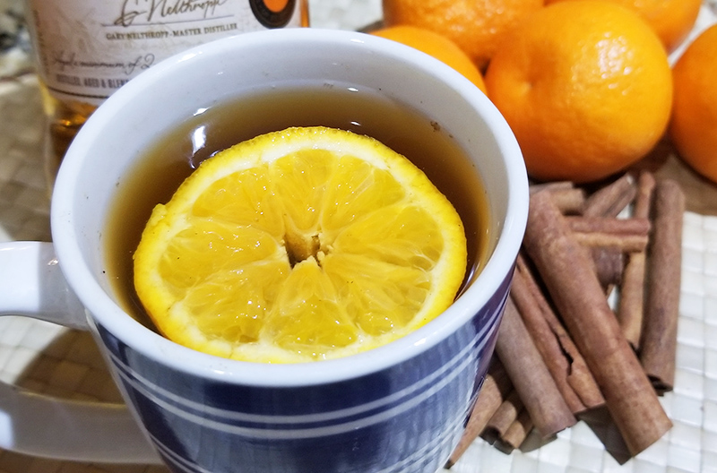 Orange Cinnamon Hot Toddy - The Kreative Life