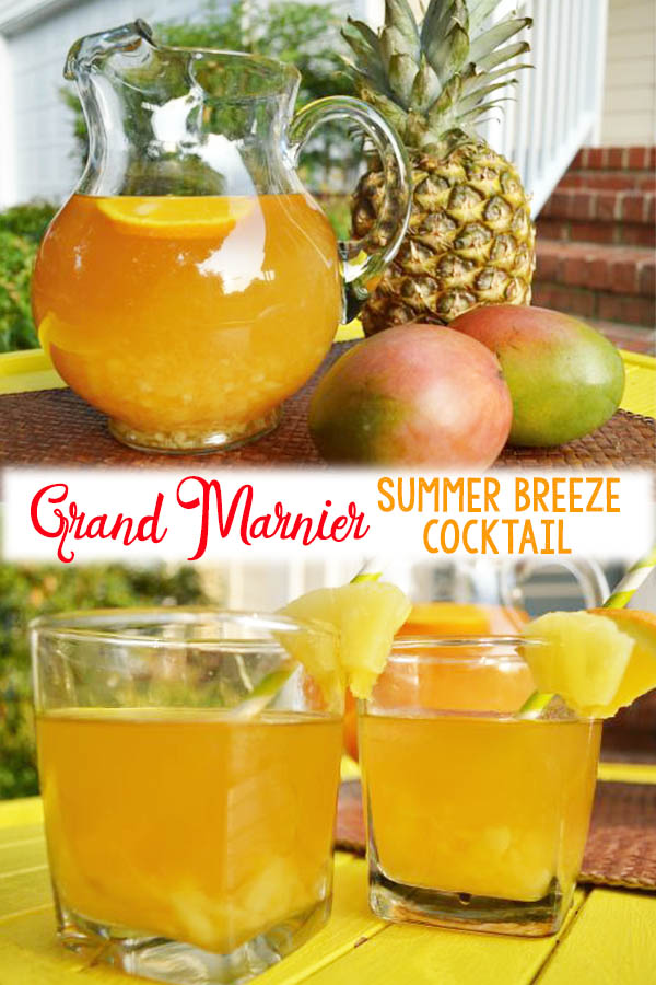 Grand Marnier Summer Breeze Cocktail