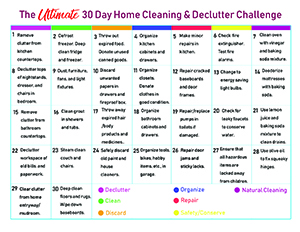 Ultimate Home Cleaning and Declutter Challenge