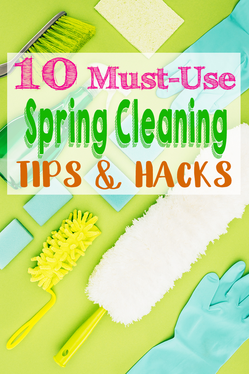 Spring is finally here and these spring cleaning tips and hacks will help you clean like a pro. - The Kreative Life