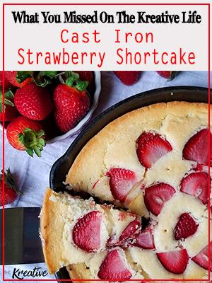 Cast Iron Strawberry Shortcake