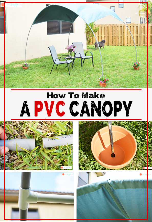 Learn how to make a canopy with pvc pipe. This easy diy pvc canopy tutorial will give you step-by-step instructions.