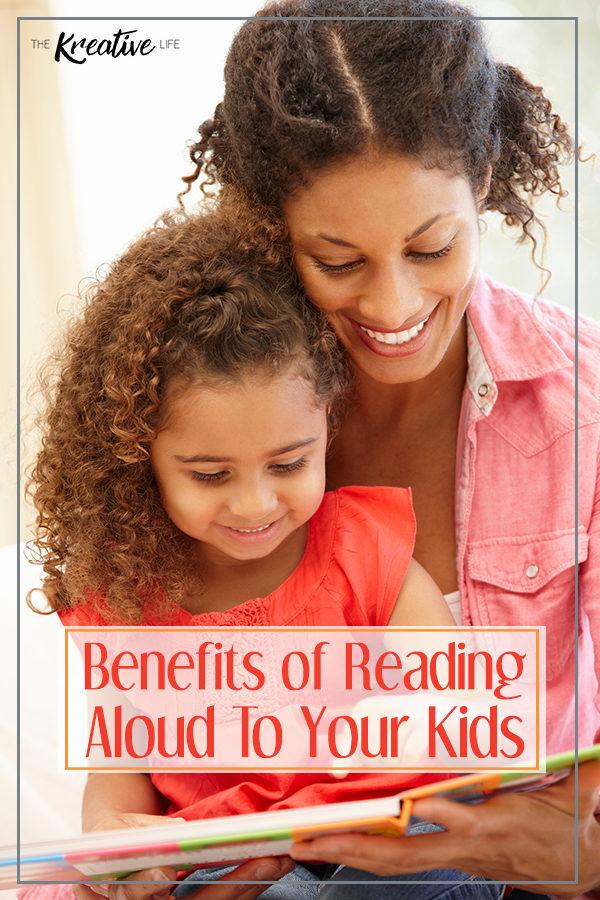 Reading Aloud Benefits - The Kreative Life