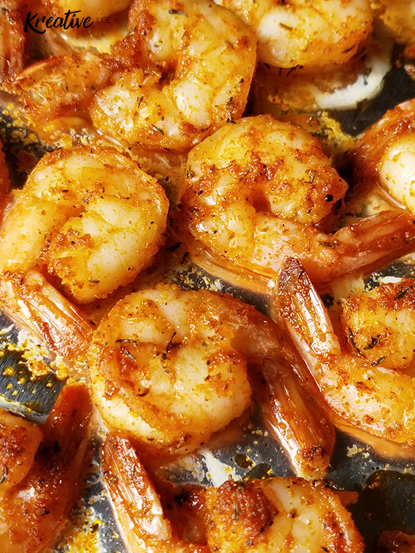 Baked Cajun Shrimp Recipe - The Kreative Life
