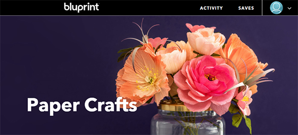 Learn how to make paper craft flowers for your fall bucket list.